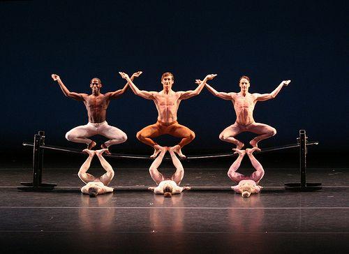 Martha Graham dance company.