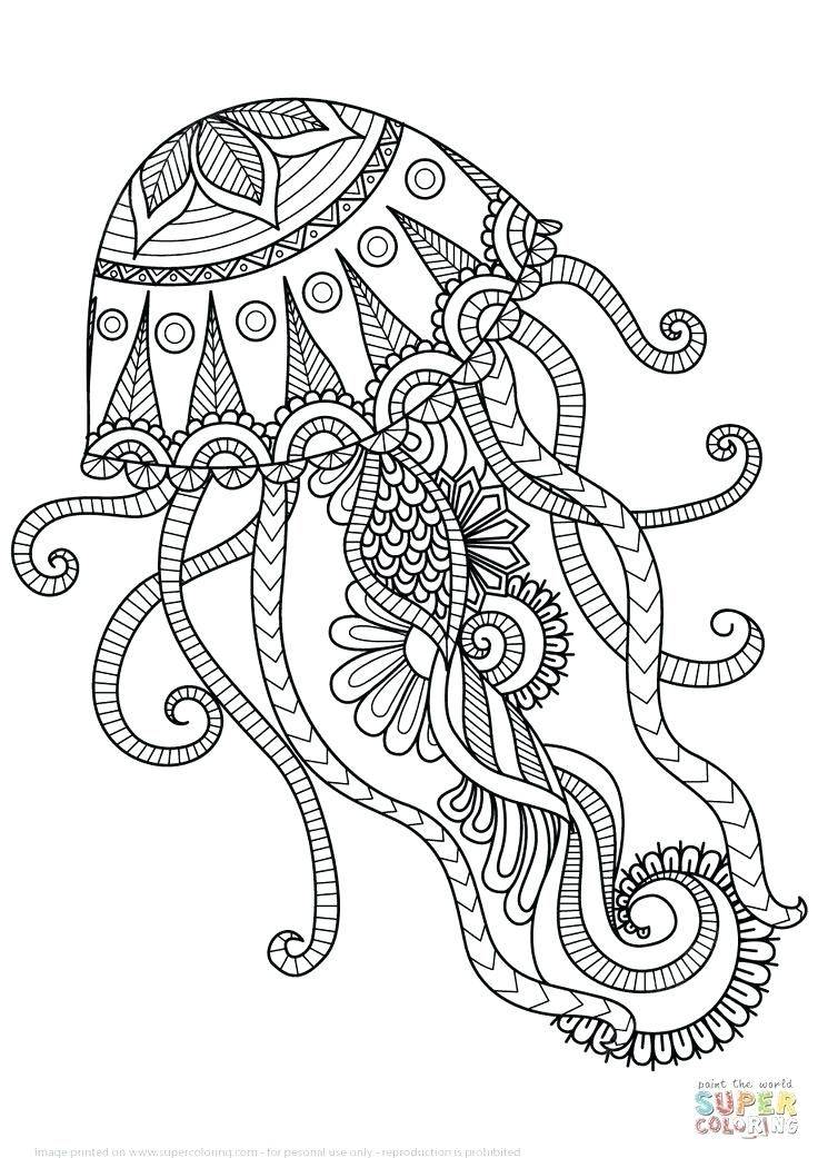 free printable coloring pages for adults animals world of animal ...