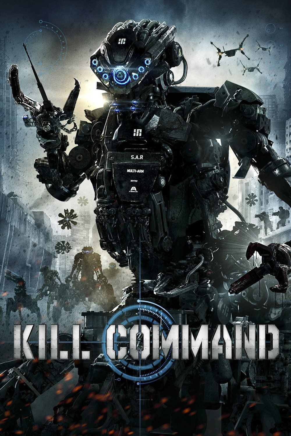9dbaba951b5d7 Kill Command - Kill Command is a sci-fi action thriller set in a near  future, technology-reliant society that pits man against killing machines.