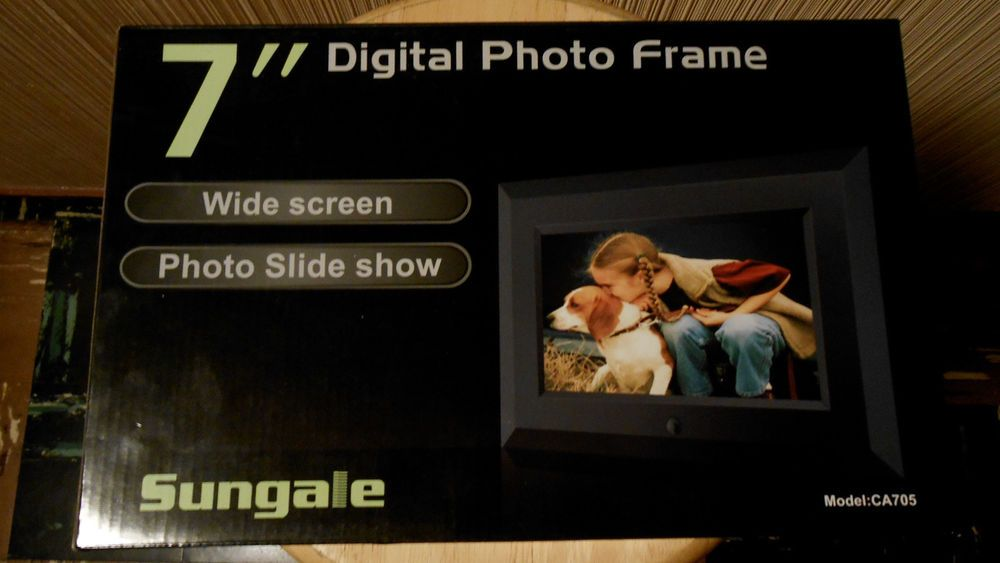 Sungale Cd705 7 Digital Picture Frame Sungale Adult Videos