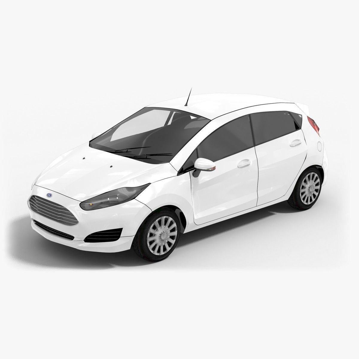 A Small Hatchback With Huge Abilities Is Ford Fiesta 2013 Take A Look At Its Lowpoly 3d Model Opticaldreamsoft Car 3d Model Sports Cars Model