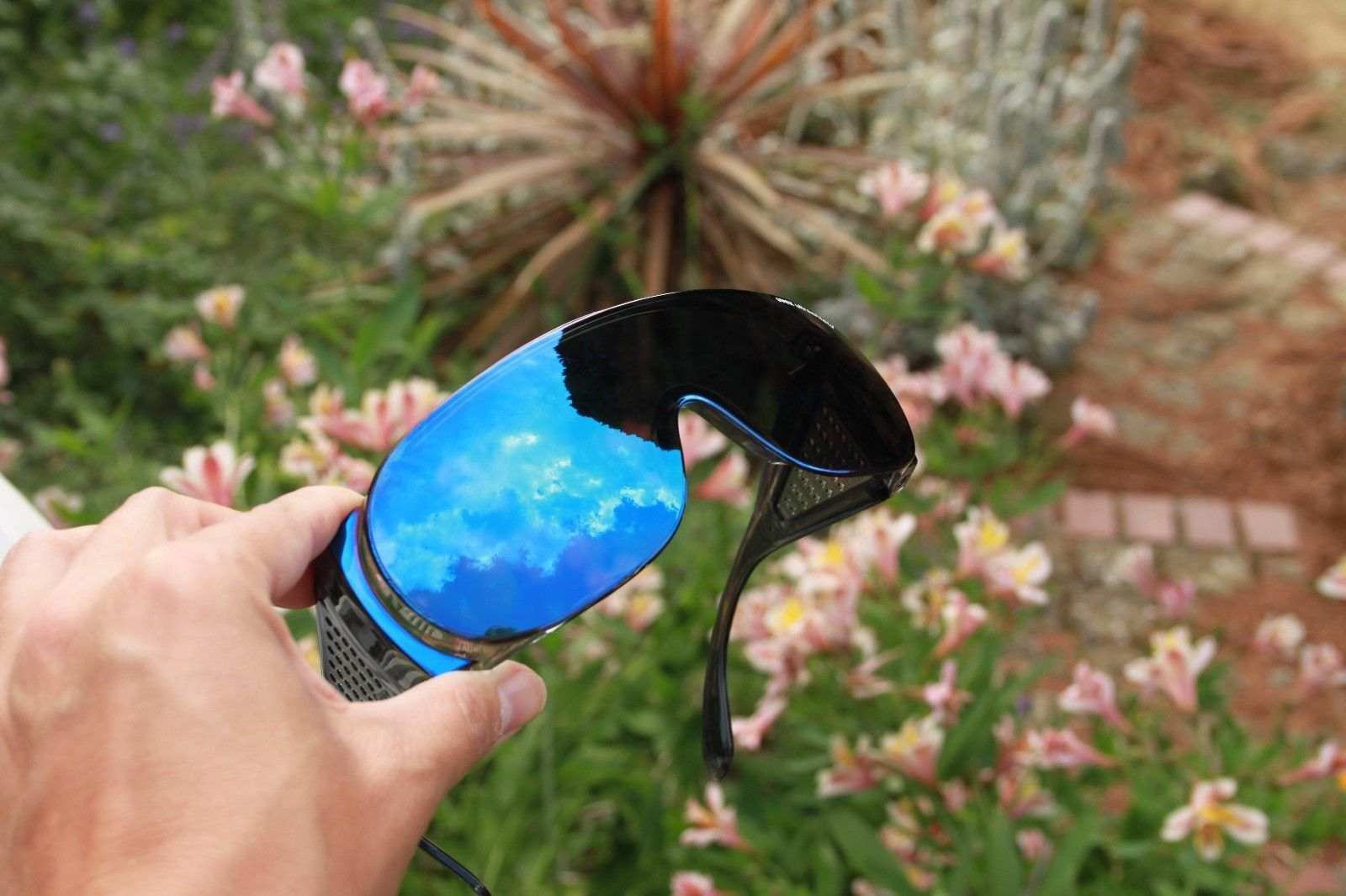 Uvex Ultrashield Sunglasses Over Glasses Cycling Fishing