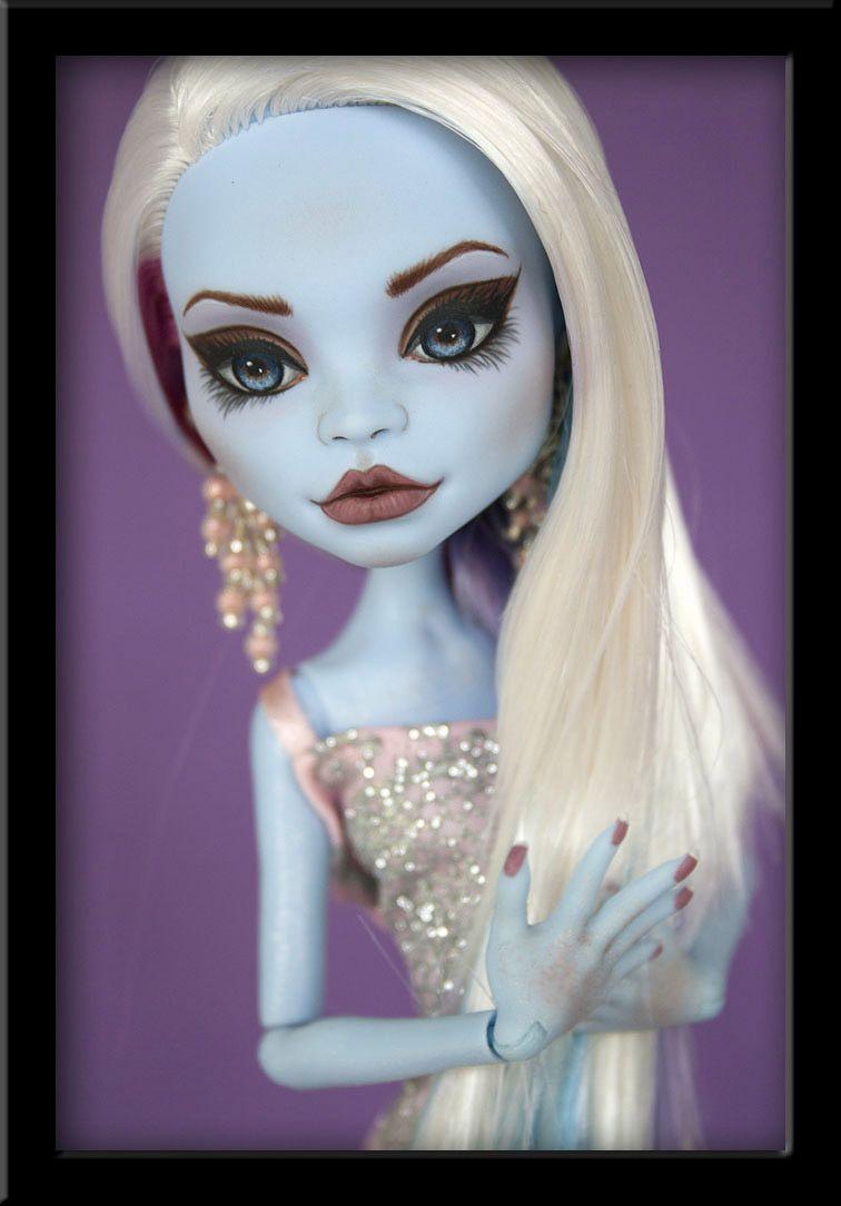 Monster High Ebay >> Alice Ooak Custom Monster High Abbey Repaint Ivyheart Julieelizabeth
