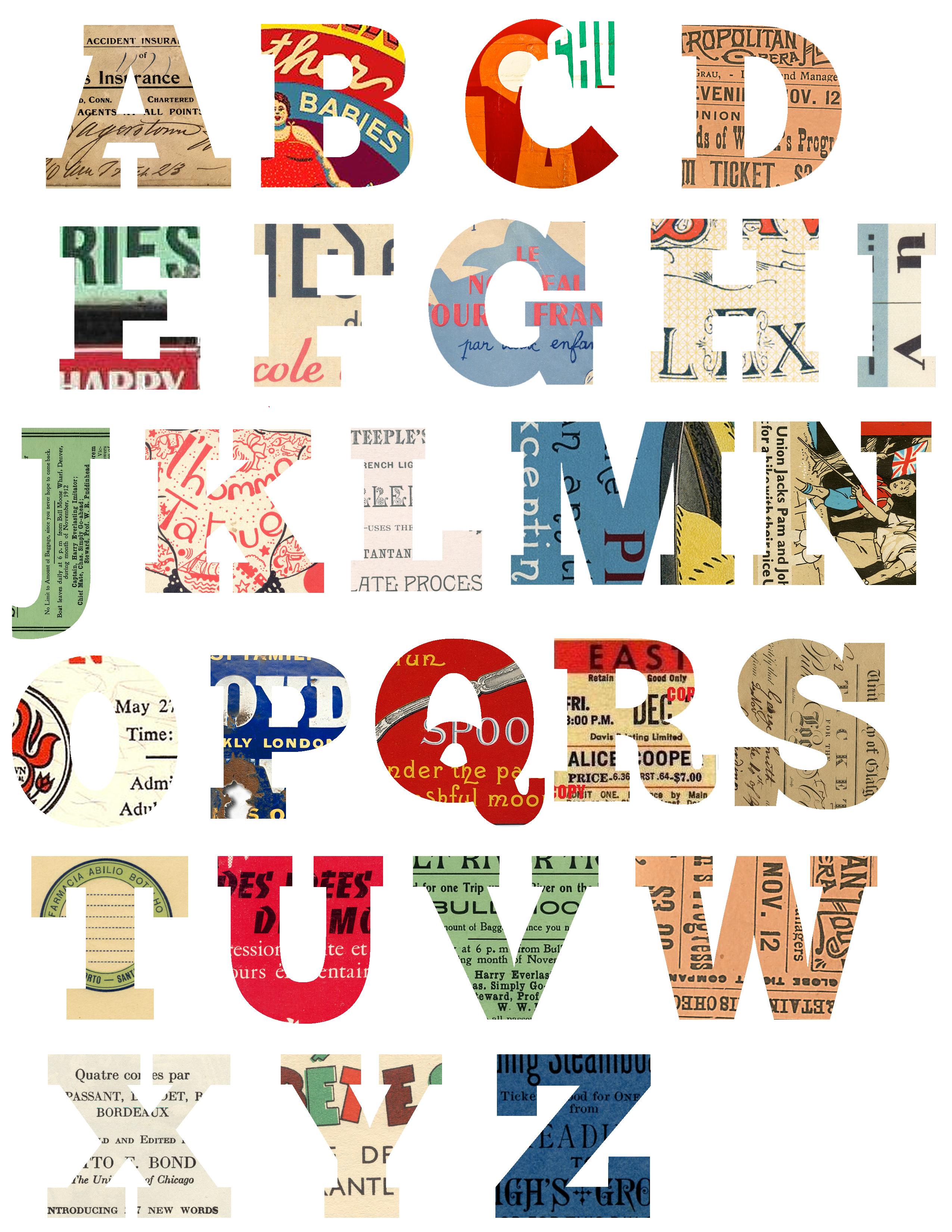 Alphabet Free Printable Forrest S Room