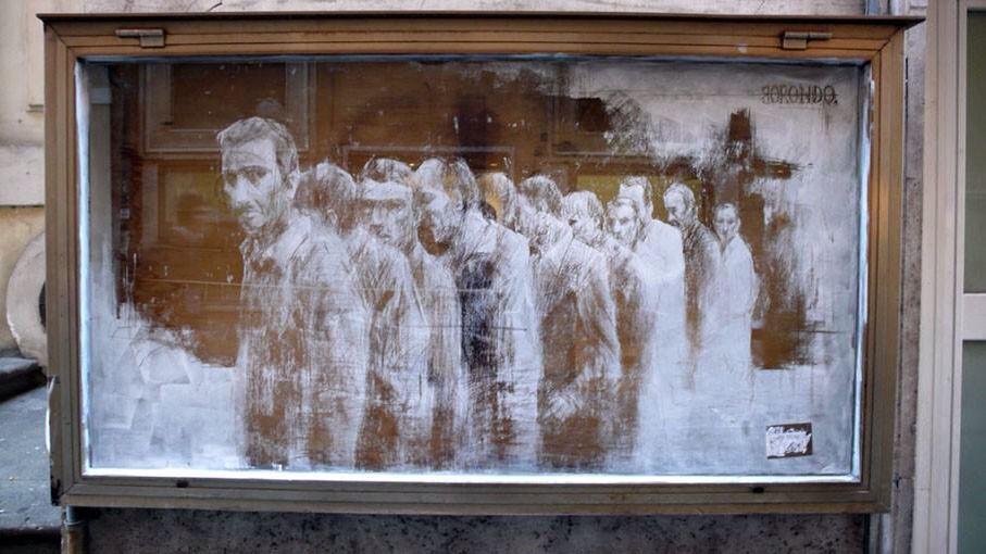 Borondo, Arte callejero
