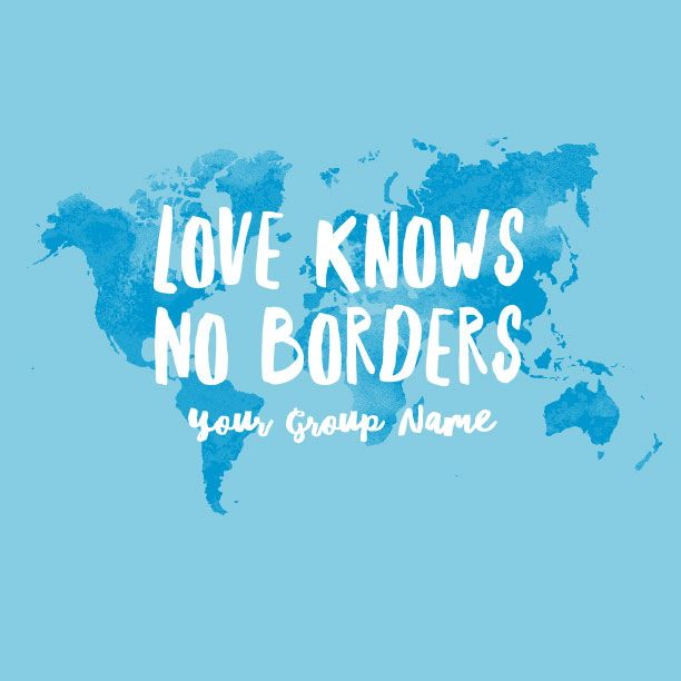 Love truly knows no borders and this design supports that statement love truly knows no borders and this design supports that statement perfectly with the distressed world map as the background love will go anywhe gumiabroncs Image collections