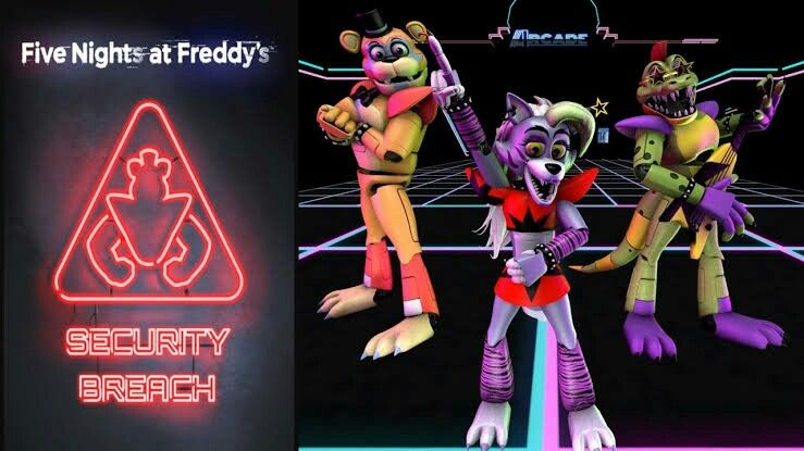 3d Of Security Breach In 2020 Fnaf Fnaf Art Five Nights At Freddy S