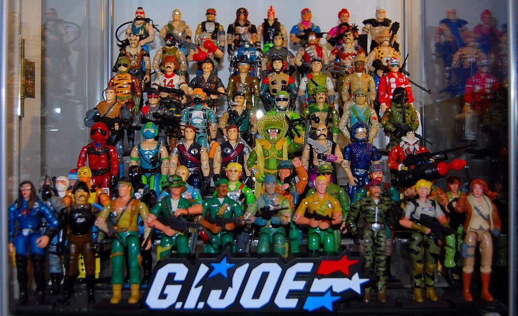 GI Joe 80s 90s Collection Display