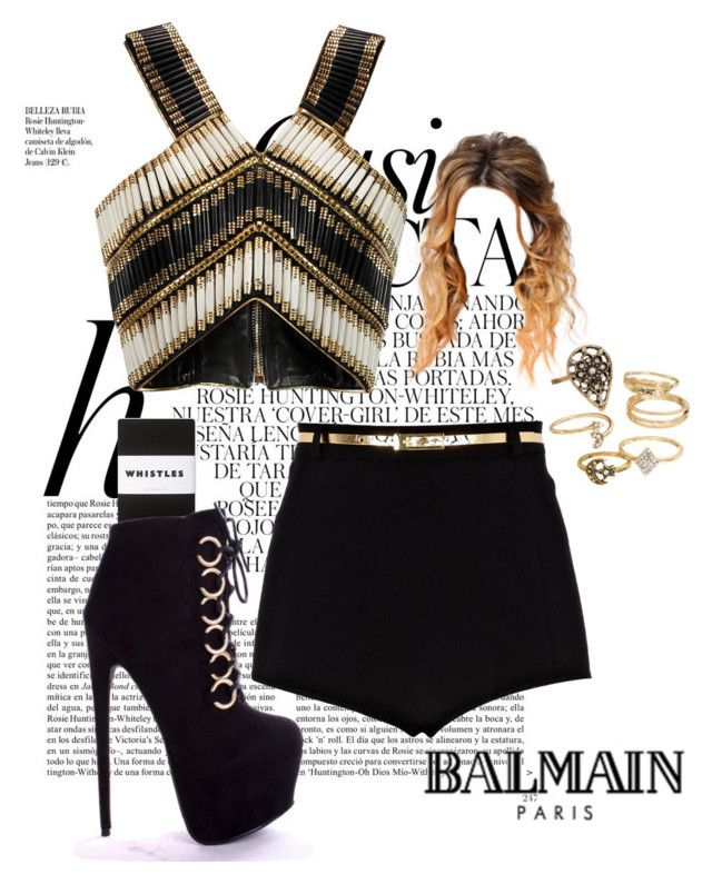 """Day 156"" by bedelevingne on Polyvore featuring moda, Whiteley, Whistles, River Island, Mudd y Balmain"