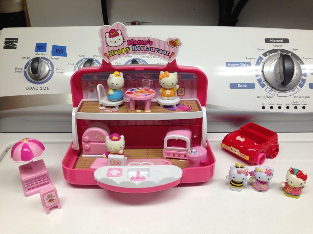 a7d6171969 Sanrio Toho Hello Kitty Mama Restaurant House Doll Car