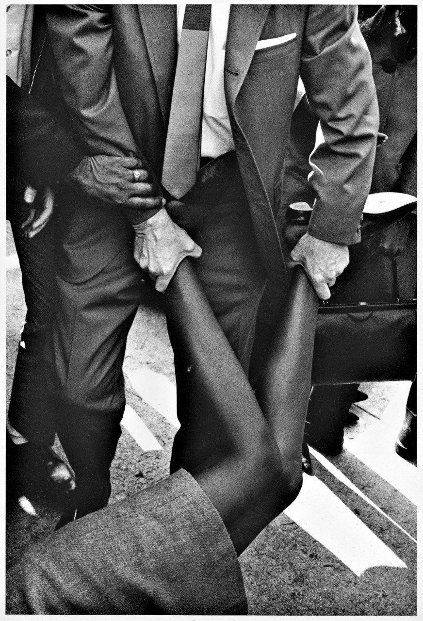 Protesta en Los Ángeles, 1965 a favor de Los Derechos Civiles. Photo: Charles Brittin.