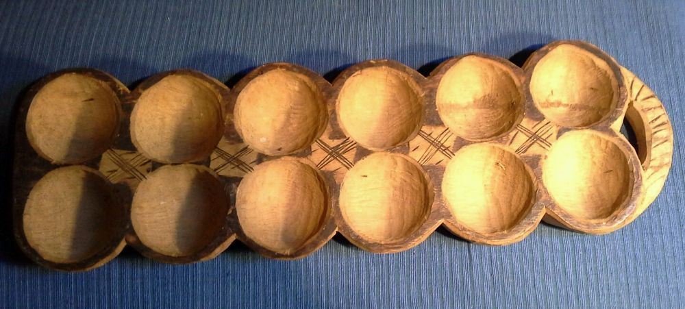 Vintage African Mancala Board in Collectables, Ethnographic, African | eBay!