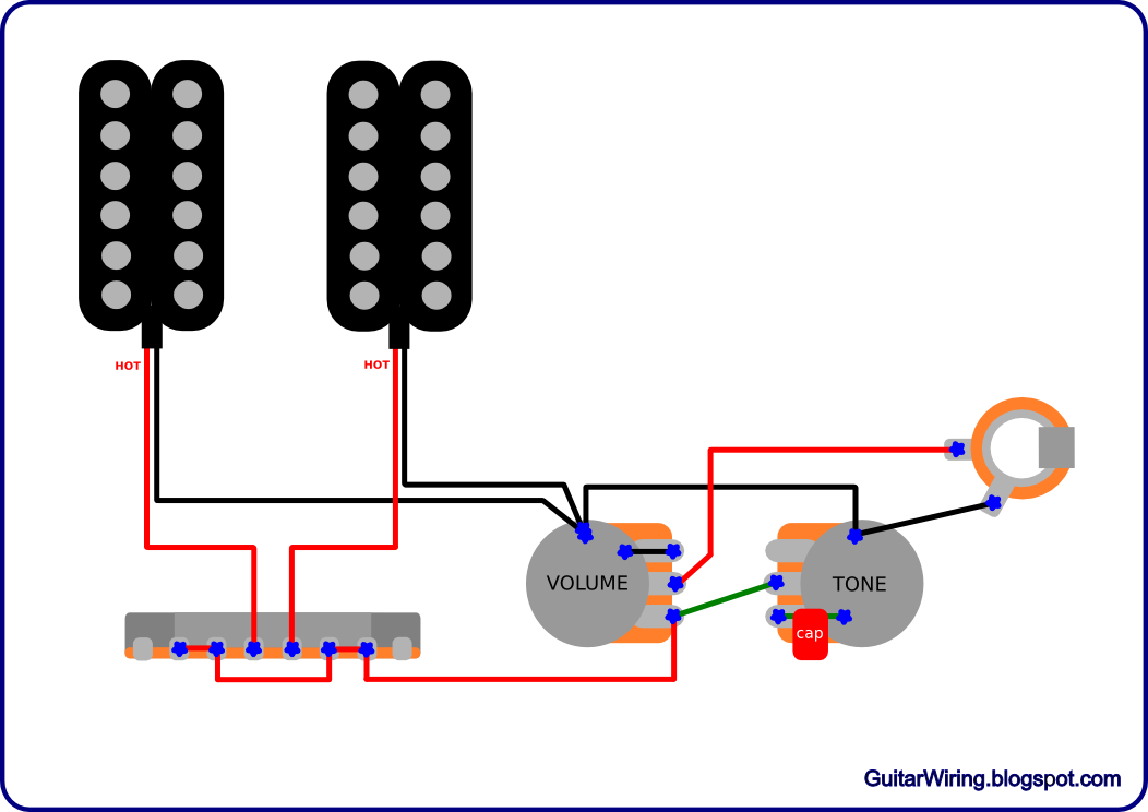 the guitar wiring blog - diagrams and tips: simple and ... 1952 dodge pickup wiring diagram #11