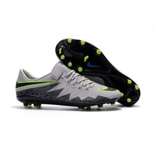 buy popular dc9b9 68311 pas cher Chaussure de football Nike Hypervenom Phinish Neymar pour Homme FG  Gris Noir Vert, Acheter Chaussures de football pour Homme, Haute qualité,  ...