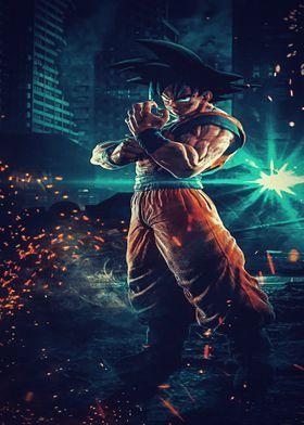 Metal Poster Dragon Ball Z Super Dbz