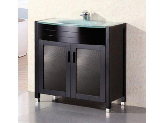36 Waterfall Single Bathroom Vanity In Espresso Http Www Maxfurniture Com Bathroom Single Vanities 36 Wa Single Bathroom Vanity Furniture Vanity Vanity Sink