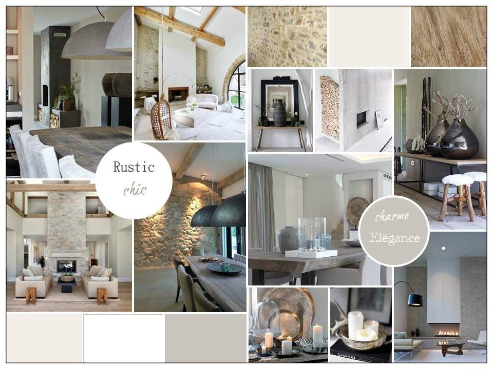 ambiance rustic chic pour un salon m lant le charme l. Black Bedroom Furniture Sets. Home Design Ideas
