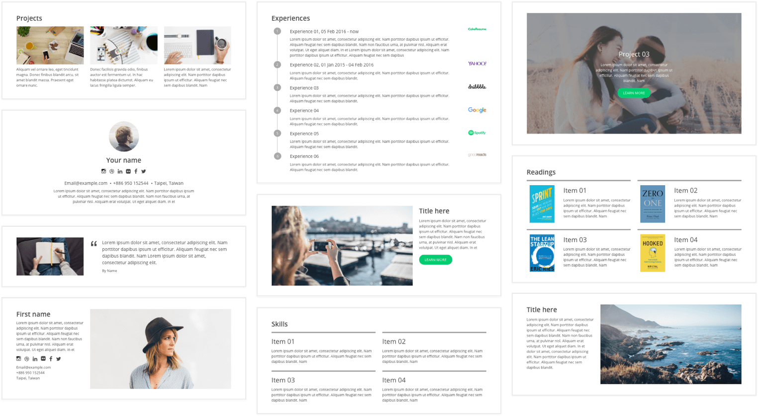 Cakeresume Free Resume Cv Builder Templates In 2020 Free Online Resume Builder Online Resume Builder Resume