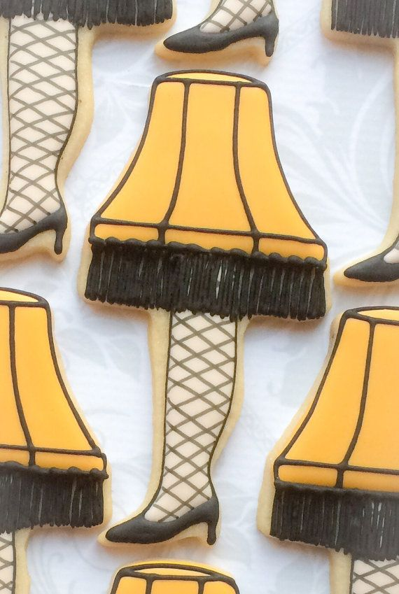 A Christmas Story Leg Lamp Cookies One Dozen By Thesweetesttiers