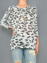 MINT LEOPARD TUNIC WWW.LOVEBLACKBIRDBOUTIQUE.COM