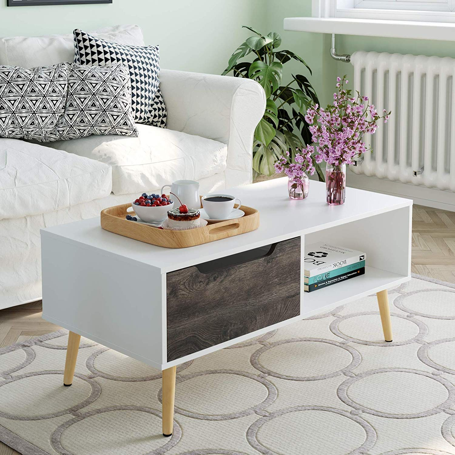Coffee Table In 2020 Living Room Tv Stand Living Room Table Diy Apartment Decor #side #table #for #living #room #with #drawers