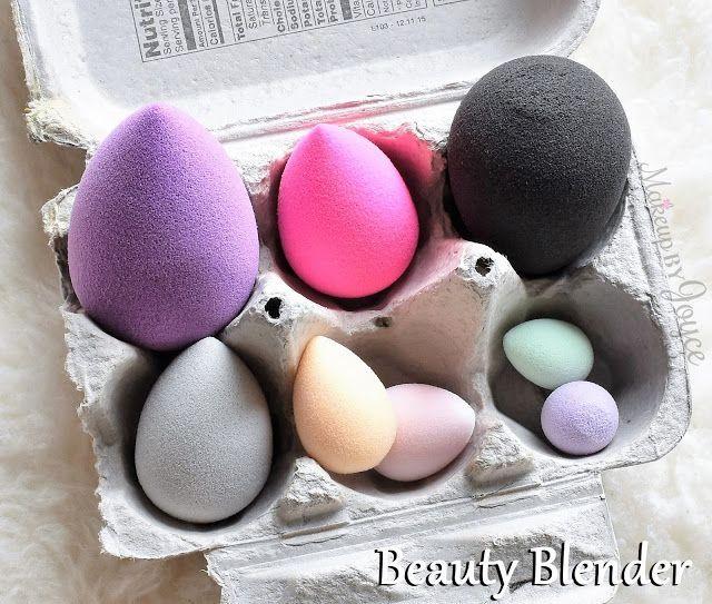 Beauty Blender Original Vs Pro: Storing My Beauty Blender Original ($20), Royal ($20), Pro