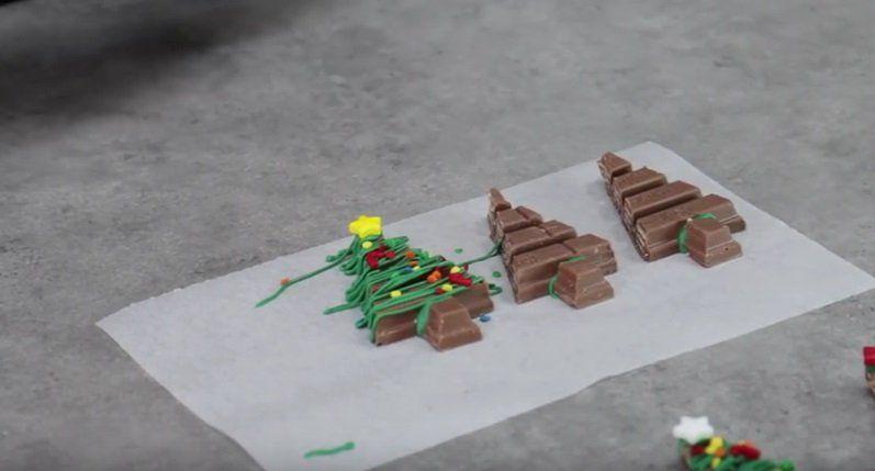 Deze KitKat kerstboompjes zijn bijna te schattig om op te eten!
