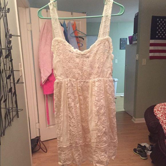 Size Small ShopHopes Crochet Lace Dress Size small crochet lace dress from ShopHopes. Worn once. Ark & Co Dresses Mini