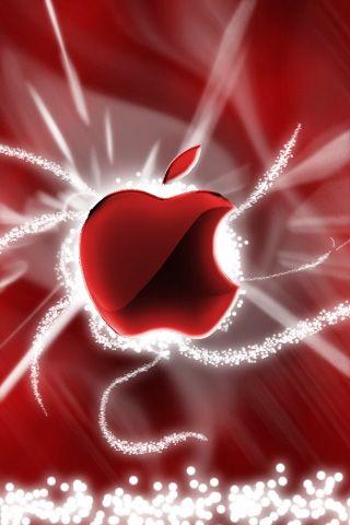 Wallpaper Iphone Red Apple 2899 Fond D Ecran Iphone Apple Fond D Ecran De Pomme Fond D Ecran Sombre Iphone
