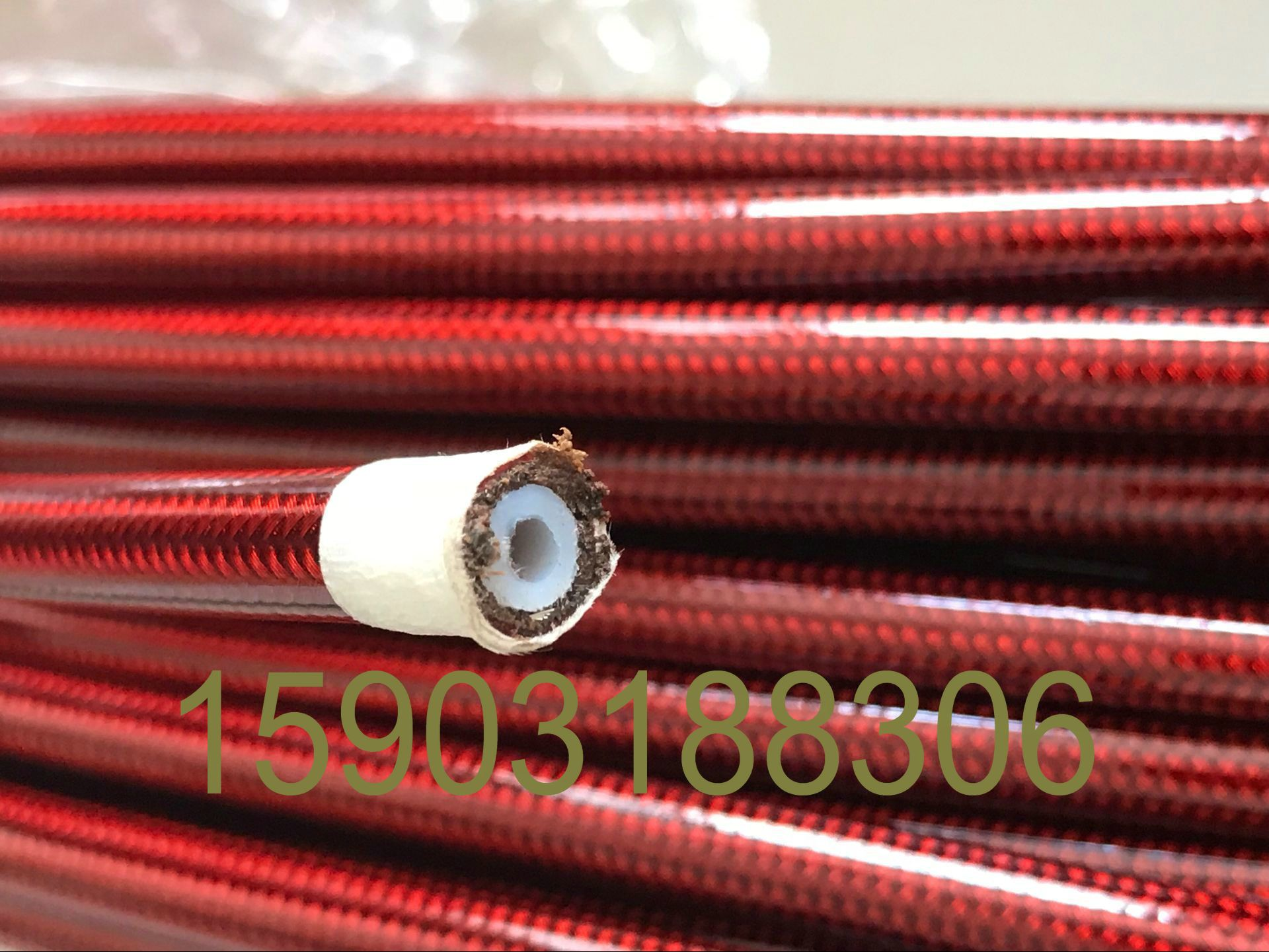 An3 Id 1 8 Braided Ptfe Brake Hose Motorcycle Teflon Line Pu Coating 5m Red Black Blue And Clear Black And Red Aliexpress Engagement Rings