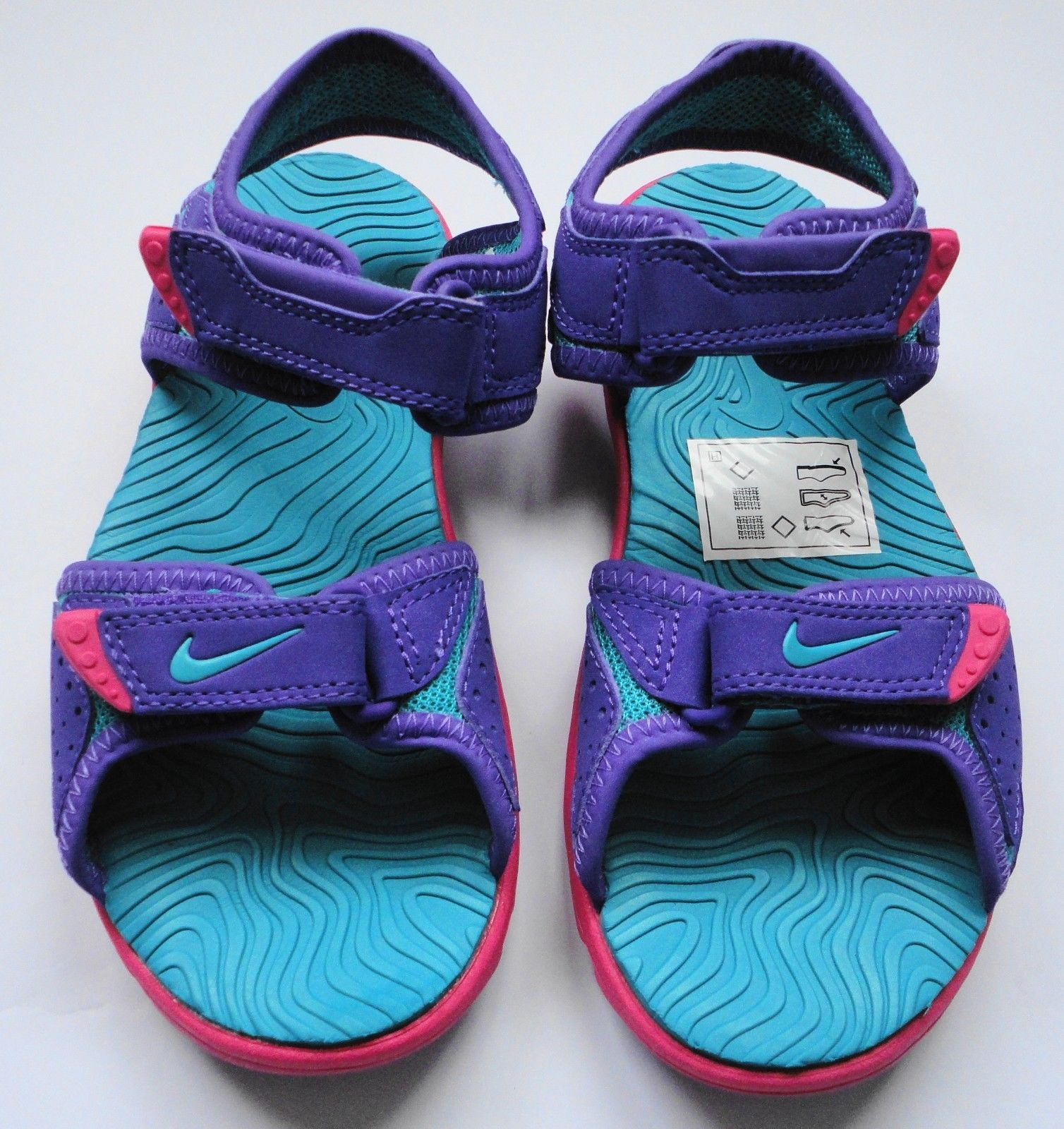2e175980 ... sale nike santiam 5 gs lilla sandals girls size 13.5 new unused b662a  29354