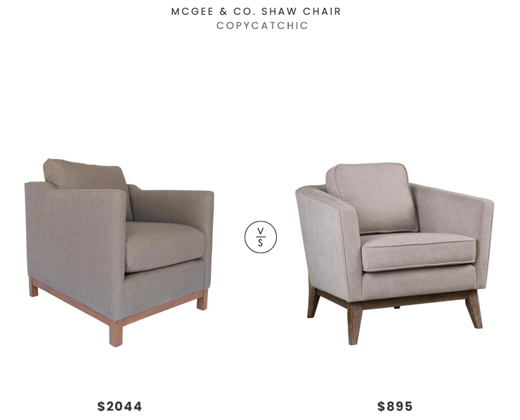 Mcgee Amp Co Shaw Chair 2044 Vs Lulu And Georgia Varley