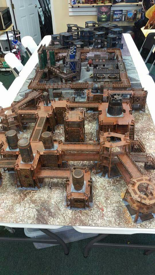 Pin By Rajmon Williams On Miniature Gaming Table Pinterest 40k