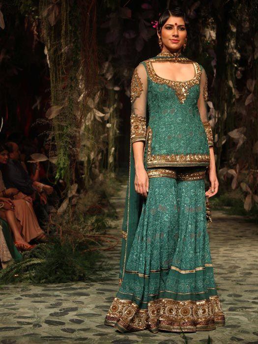 4791e2c3b6 Bridal Sharara Design 2016 | Style.Pk | Designer accessories n ...