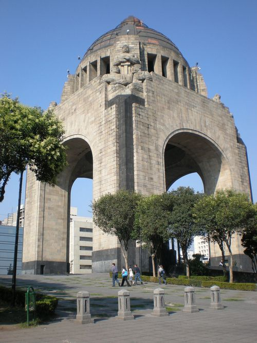 Monumento A La Revolucion Mexico City Revolution S Monument There Is A Museum Under It Which Tells You All About This There I Monumentos Mexico City Y Ciudad De Mexico