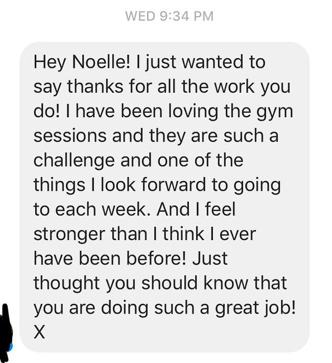 What a beautiful message to wake up to ❤️ This is why I love my job. Not for the recognition, but se...
