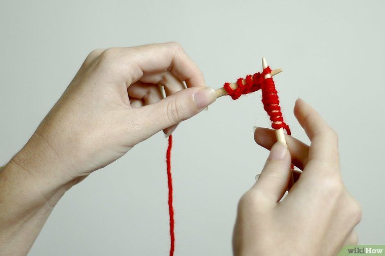 how to pick up stitches in knitting left handed