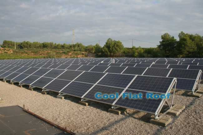 Image Of Solar Panels Installed On A Commercial Flat Roof Solar Panels Buy Solar Panels Solar Panels For Sale
