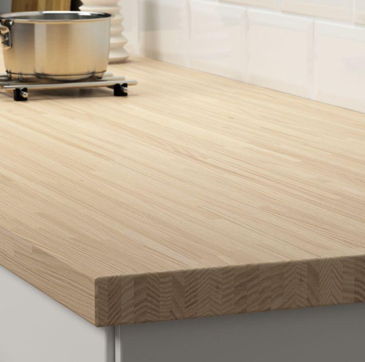 Pinnarp Arbeitsplatte massiver Esche IKEA 2018 Wohnideen Küche - arbeitsplatte küche nussbaum