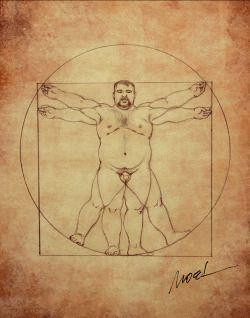 FAT ART: Mega-Editor | Bears & Fluffy Fat Men | Fat art, Bear art, Art