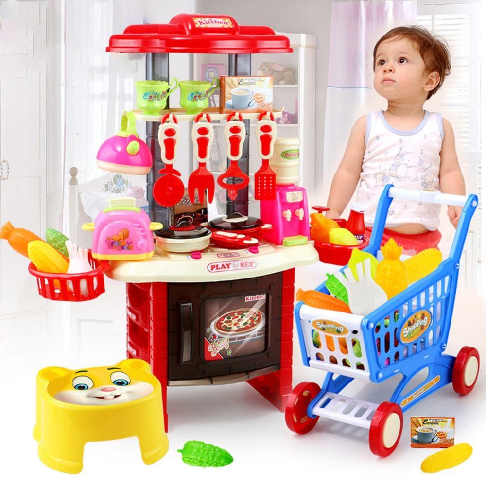 Childrenu0027s Toys Kitchen Toys Cooking Kitchen Utensils Set Play Toys