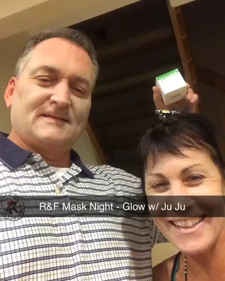 Rodan and Fields mask night!!! Keep your skin glowing and marriage ?!?!?