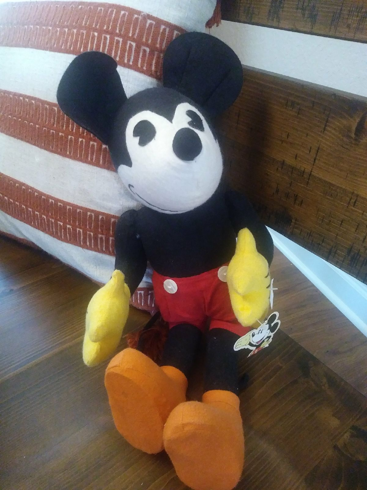 Predownload: Retro Collection Disney 19 Mickey Mouse 2002 Schylling Plush Stuffed Animal Legs Are Poseable In Goo Disney Stuffed Animals Plush Stuffed Animals Mickey Mouse [ 1600 x 1200 Pixel ]