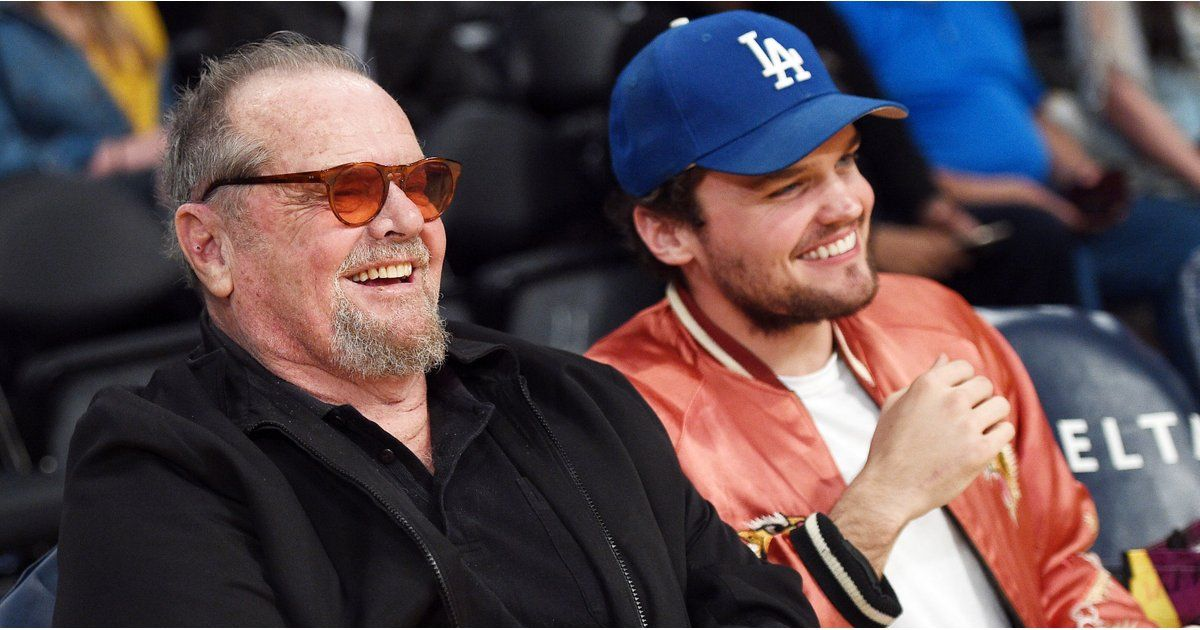 Jack Nicholson and Son Ray at Lakers Game March 2017 | POPSUGAR Celebrity