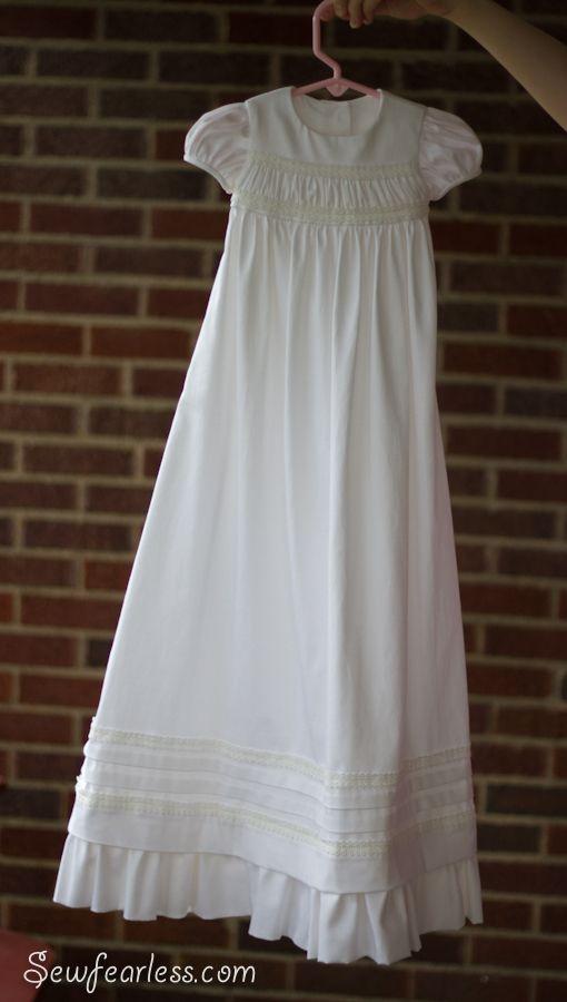 A Baptism | Feeling Crafty | Pinterest | Blessing dress, Blessings ...