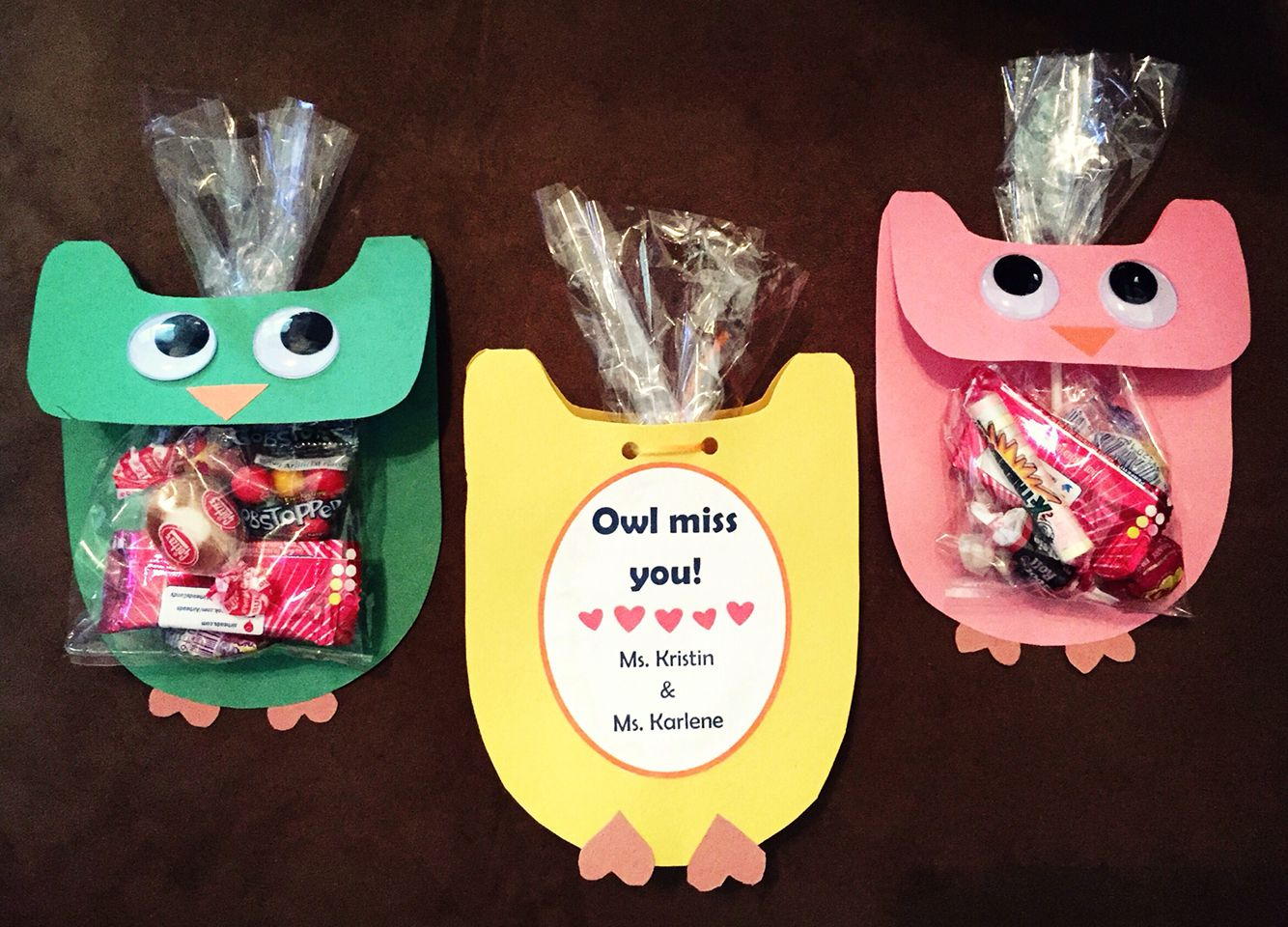 Student Gifts Owl Miss You