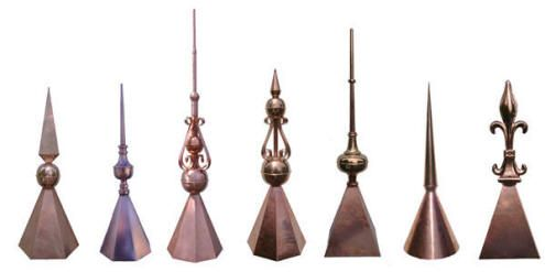 Copper Finials Roof Finials Copper Spires And Turret