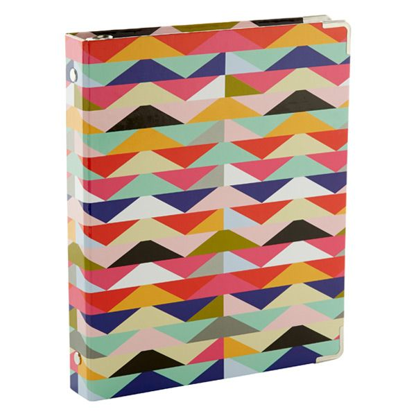 Zoey Mini Three-Ring Binder: The Binder You Use Can Be