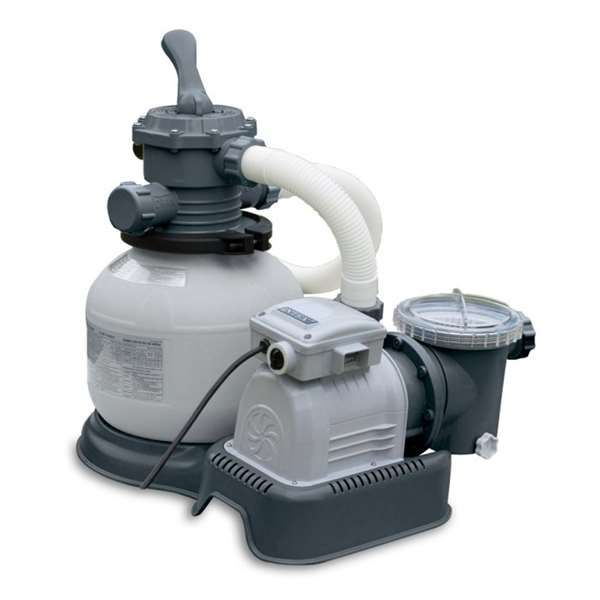 Intex 1200 Gph Sand Filter Pool Pump With Gfci 56685eg These Work Much Better Than Those Cartridge Filters That Pool Sand Pool Pump Swimming Pool Filters