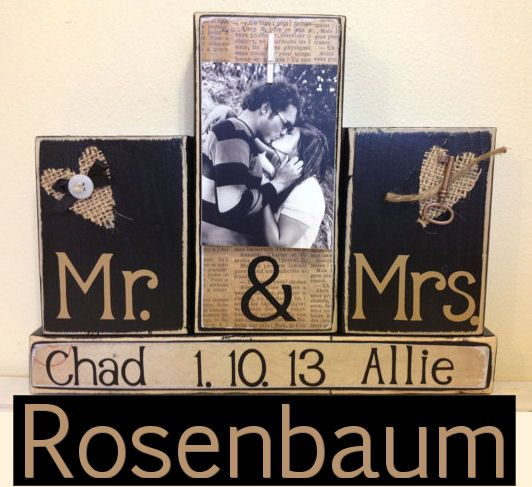 Mr And Mrs Gift Ideas: Wedding Gift, Husband Christmas Gift, Anniversary Gifts